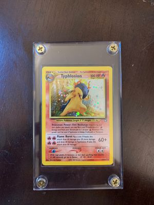 HOLO NEAR MINT Typhlosion 17/111 for Sale in Fremont, CA