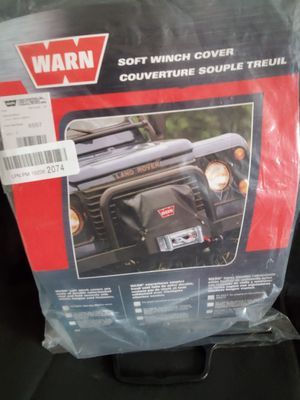 Warn soft winch cover for Sale in Las Vegas, NV
