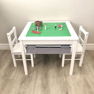 New - Kids Multi-Activity LEGO Table & Chairs for Sale in Gilbert, AZ