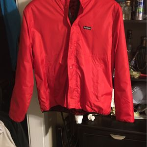 SUPREME RED LEOPARD JACKET for Sale in Raleigh, NC