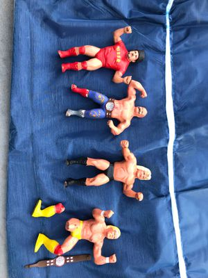WWF rubber toy figures for Sale in Maricopa, AZ