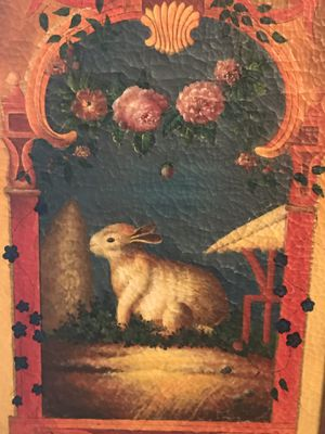 Large Elegant Rabbit Painting for Sale for sale  Caldwell, NJ