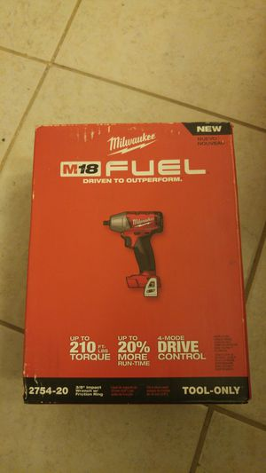 Milwaukee Milwaukee 18 Fuel Impact Wrench for Sale in Baltimore, MD