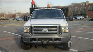 """2005 Ford Super Duty F550 DRW Reg Cab 201"""" WB 120"""" CAXLT four wheel Drive Oxford white Exterior with Medium flint cloth Interior / 6L8 Cylinder Eng for Sale for sale  Bronx, NY"""