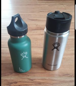 Hydro Flask water bottle cup coffee 12 oz and 16 oz for Sale in Redondo Beach, CA