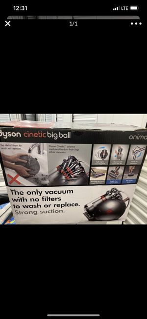 Dyson Cinetic Big Ball Animal Canister Vacuum for Sale in Pacoima, CA