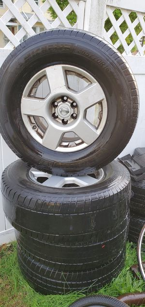 08 nissan pathfinder,frontier,xterra ,good rims they need tires ,have air all 4 the sensor still on the rims for Sale in Camden, NJ