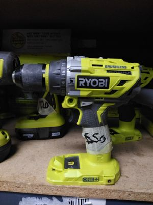 RYOBI HAMMER DRILL BRUSHLESS for Sale in Moreno Valley, CA