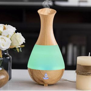 NEW Wood Grain Cool Mist Humidifier Ultrasonic Aroma LED Essential Oil Diffuser Home Office Bedroom for Sale in Phoenix, AZ