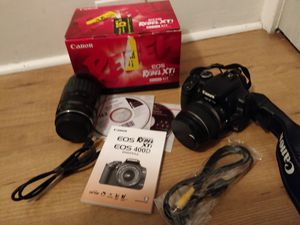 Canon Rebel XTi with 2 lenses for Sale in San Diego, CA