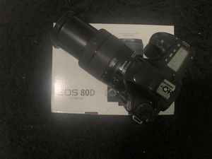 Canon 80D for Sale in Hialeah, FL