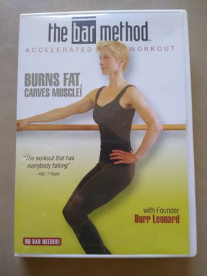 The Bar Method accelerated workout DVD for Sale in Joliet, IL