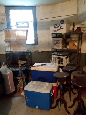 Suitcase,chairs,speakers,coolers,plant stands for Sale in Chicago, IL