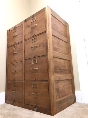 Antique Globe Wernicke File Cabinets for Sale in San Diego, CA