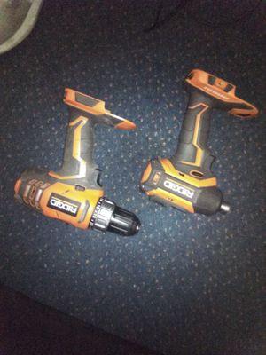 Ridgid impact and ridgid drill. for Sale in Centralia, WA
