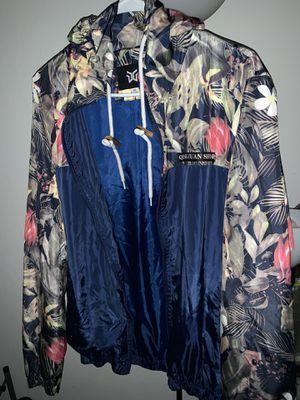Windbreaker hoody running jacket for Sale in Hayward, CA