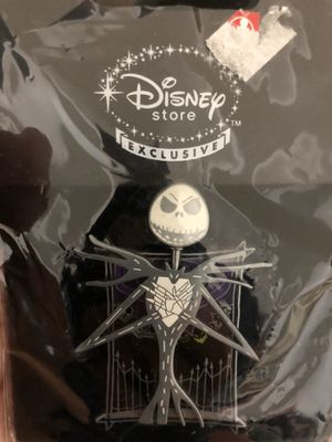 Disney Nightmare Before Christmas Two-headed Jack Skellington Spinner Pin for Sale in San Antonio, TX