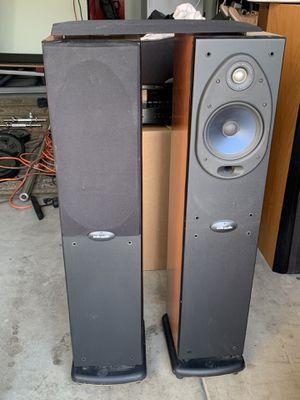 Polk audio floor speakers for Sale in Tracy, CA
