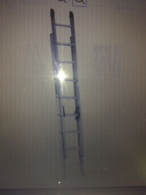 16ft Louisville extension ladders for Sale in Pasadena, MD