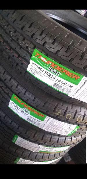 Trailer Tires St205 75 14 for Sale in Phoenix, AZ