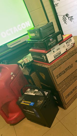 New Car Parts,Battery ,Gas Can for Sale in Richmond, VA