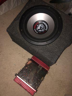 Sub/amp for Sale in Manassas, VA