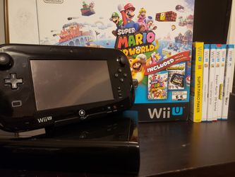 Super Mario 3D World Wii U 32 GB Deluxe Set for Sale in McLean,  VA