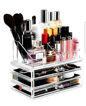 Acrylic Makeup Organizer Drawers for Sale in Arlington, TX