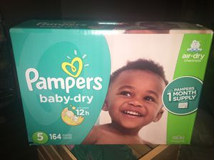 Pampers diapers for Sale in Goodyear, AZ