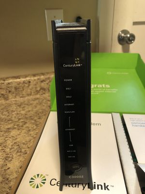 CenturyLink C3000Z Wireless WiFi Modem Router for Sale in Covington, WA