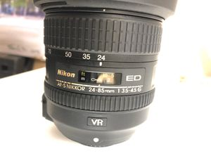Lente Nikon ED 24-85mm for Sale in Cutler Bay, FL