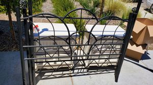Rod Iron Bed Frame for Sale in Clovis, CA