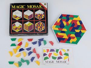Diset MAGIC MOSAIC Puzzle Game Vintage for Sale in Vista, CA