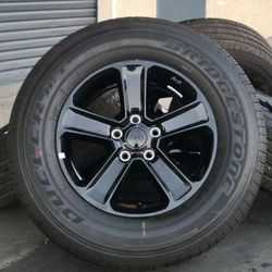"18"" Jeep Wrangler Gladiator Rubicon Wheels Rims Rines And Tires Llantas for Sale in Huntington Beach,  CA"