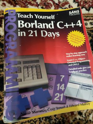Teach Yourself Borland C++4 in 21 Days - Programming for Sale in Pembroke Pines, FL