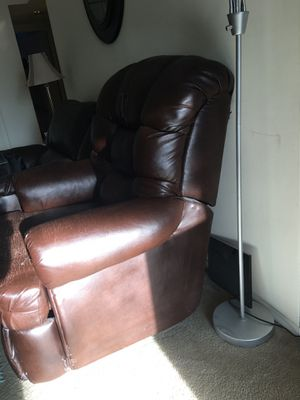 Leather recliner chair for Sale in Reston, VA