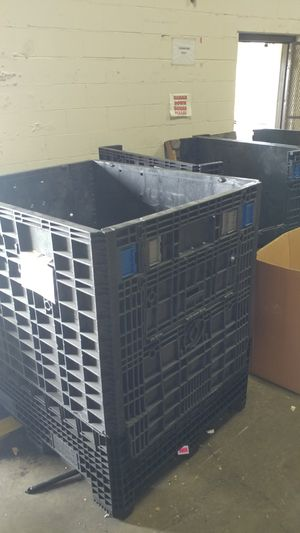 Collapsible bulk storage container for Sale in Columbus, OH