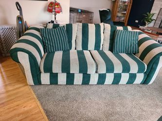 2 couches one has pull out bed obo for Sale in New Lenox,  IL