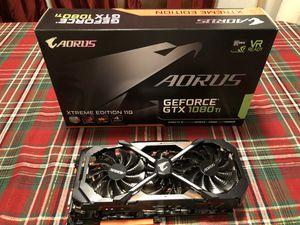 Gigabyte Aorus Nvidia GeForce GTX 1080Ti Xtreme Edition 11G Video Card for Sale in Mount Vernon, WA