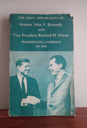 Kennedy Nixon 1960 Presidential Campaign Debate for Sale in Montgomery Village, MD