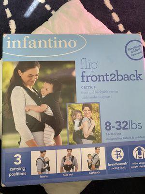 Infant into Flip front2back for Sale in Aspen Hill, MD