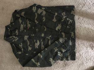 Camo Levi's jacket for Sale in Glenn Dale, MD