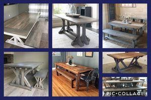 Custom Farmhouse Dining Tables for Sale in Littleton, CO