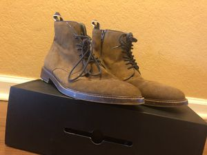 "Aldo Brown Suede ""CEO"" Boots.9.5 for Sale in Oakland Park, FL"