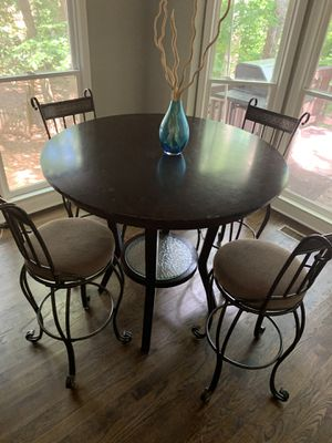 Breakfast table - 4 chairs for Sale in Cumming, GA