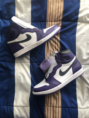 Air Jordan 1 Court Purple Size 11 for Sale in Miami Beach, FL