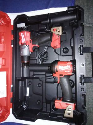 "New Milwaukee M18 Fuel 1/2"" Hammer Drill and 1/4"" Hex Impact. for Sale in Lake Elsinore, CA"