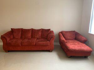 Modern Red Sofa for Sale in Miramar, FL
