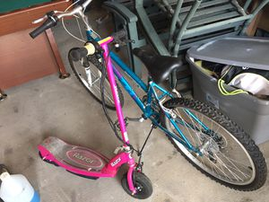 Girls Bike and Electric Scooter for Sale in Clinton, MD