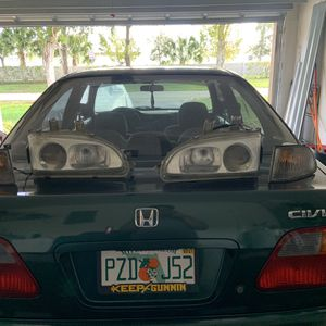 Real Denji Headlights For EG Comes With Clear Corners for Sale in Fort Lauderdale, FL